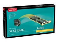 Adaptec 3400S 4 Channel Ultra160 Raid 32MB Retail Box