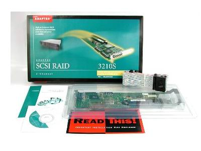 ADAPTEC 3210S 2 CHANNEL ULTRA160 RAID 32MB RETAIL ASR-3210S